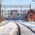 Tory kolejowe Rydułtowy zimą
