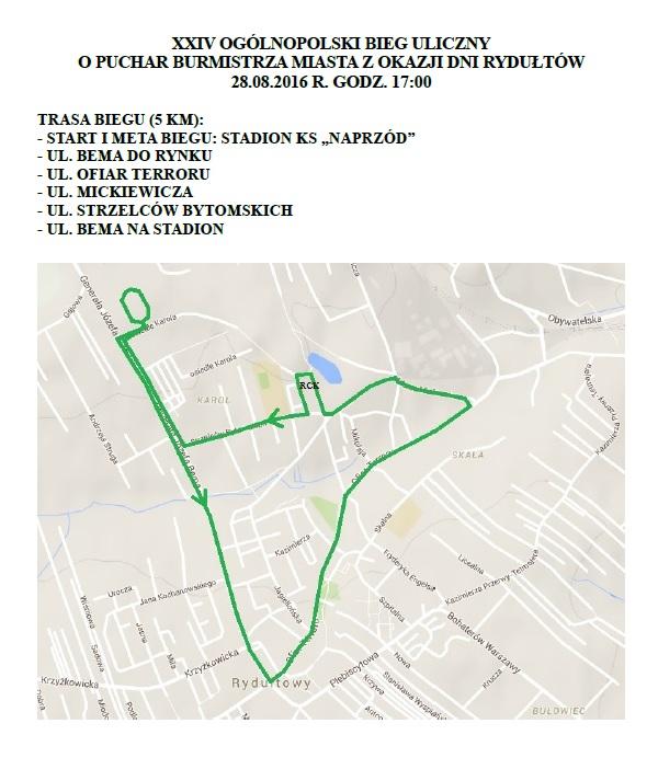 XXV_ogolnopolski_bieg_uliczny_o_puchar_burmistrza_miasta_rydultowy_trasa
